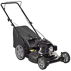 21-inch High Wheel 3-in-1 Push Lawn Mower 6.75 ft. lbs. Torque