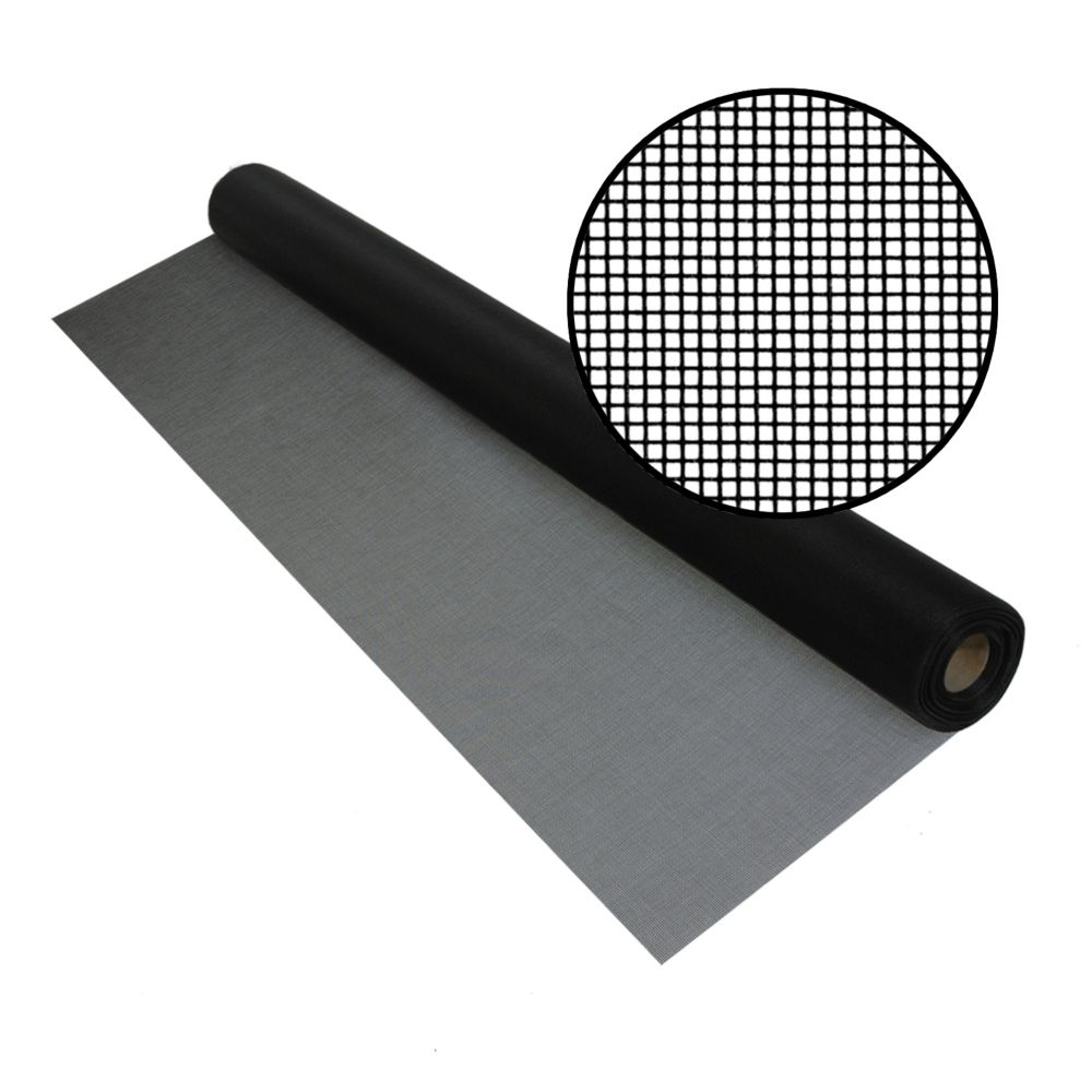 Bettervue 60-inch x 100 ft. Black Insect Screen