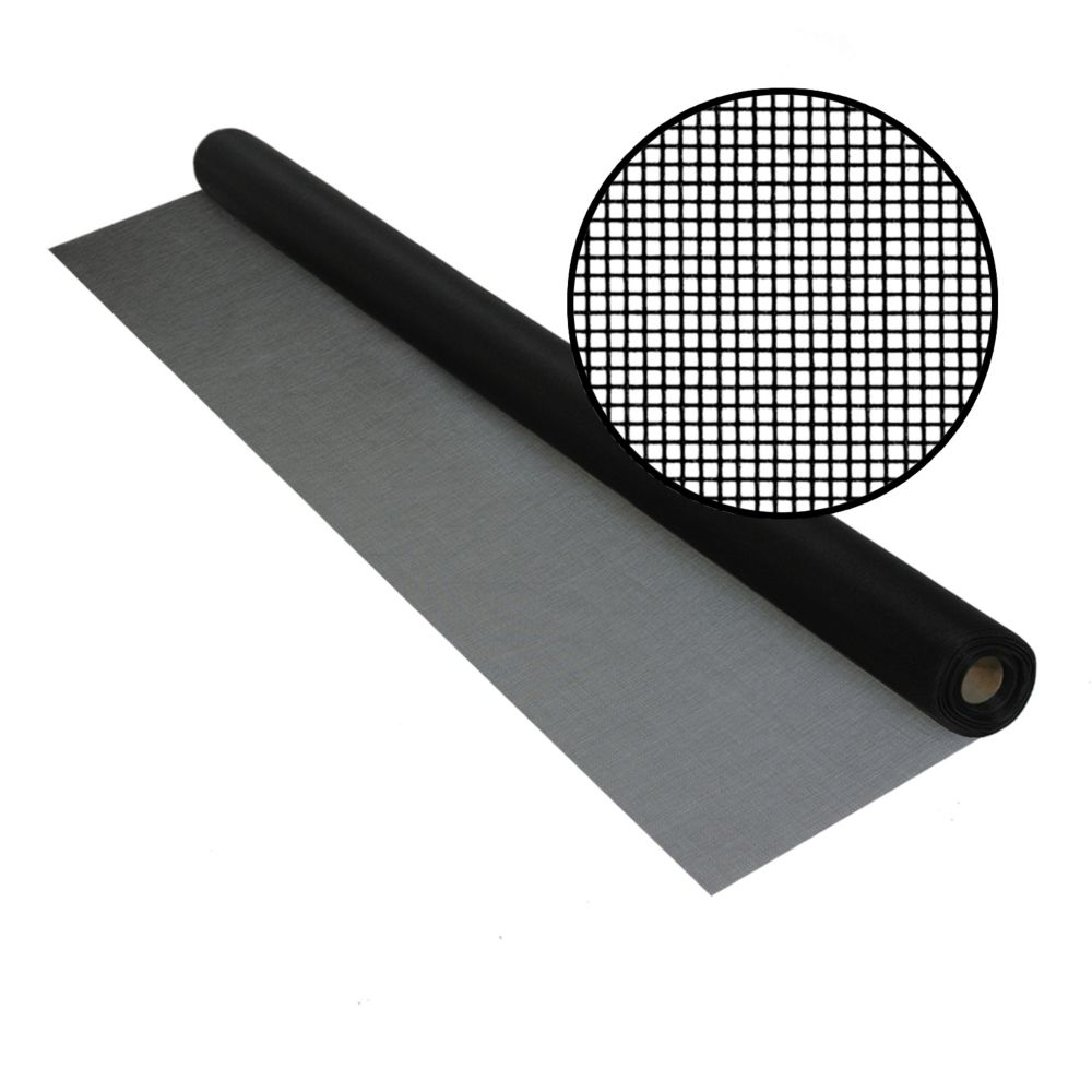Bettervue 48-inch x 25 ft. Black Insect Screen