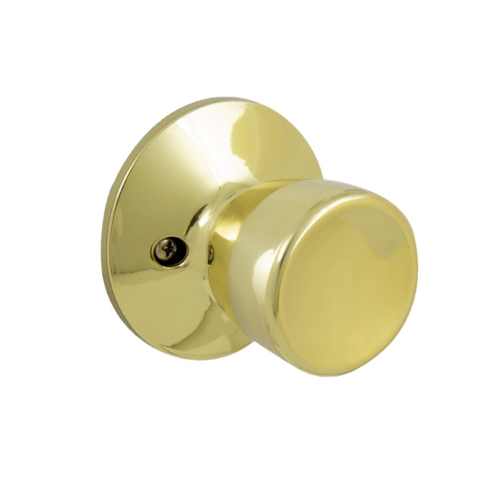 Defiant Gallo Polished Brass Dummy Door Knob