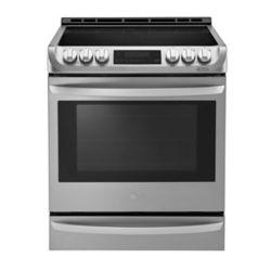 LG Electronics Cuisinière électrique encastrée avec ProBakeConvection et EasyClean, 6,3pi³, acier inoxydable