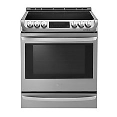 6.3 cu. ft. Electric Slide-In Range with ProBake Convection in Stainless Steel