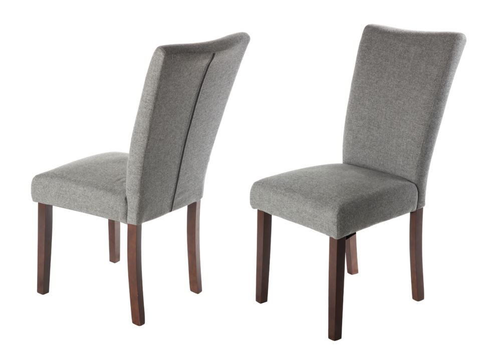 Harper Collection Dining Chair - Grey (2 Pack) IF-CH257-GY2pk in Canada