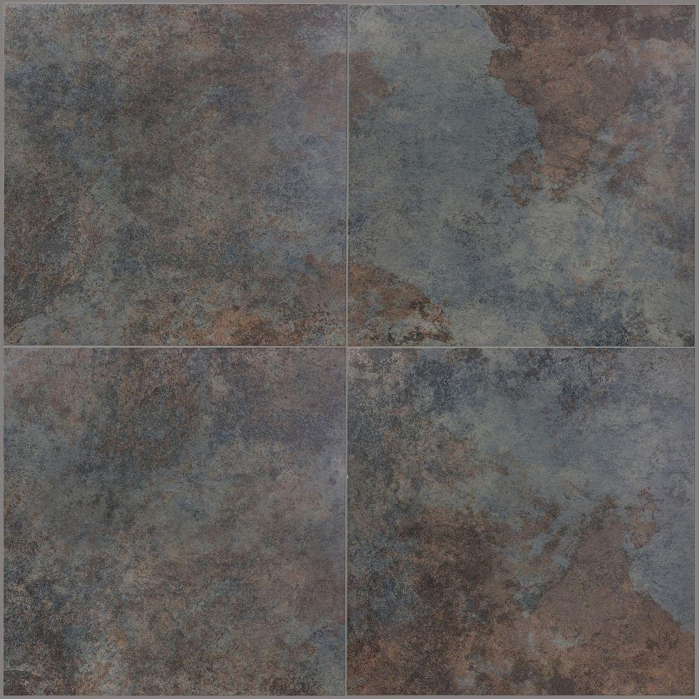 """18""""x18"""" Rajah Rust Porcelain (7 pcs / 15.60 sqft per box)"""