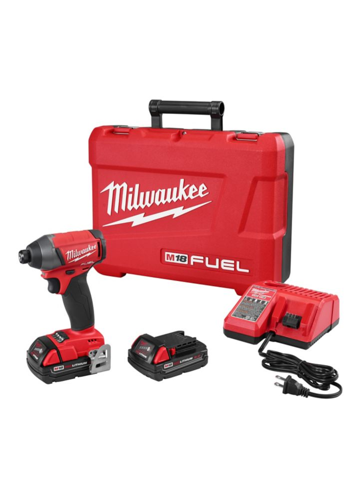 M18 FuelL 1/4 Inch Hex Impact Driver - Free Battery