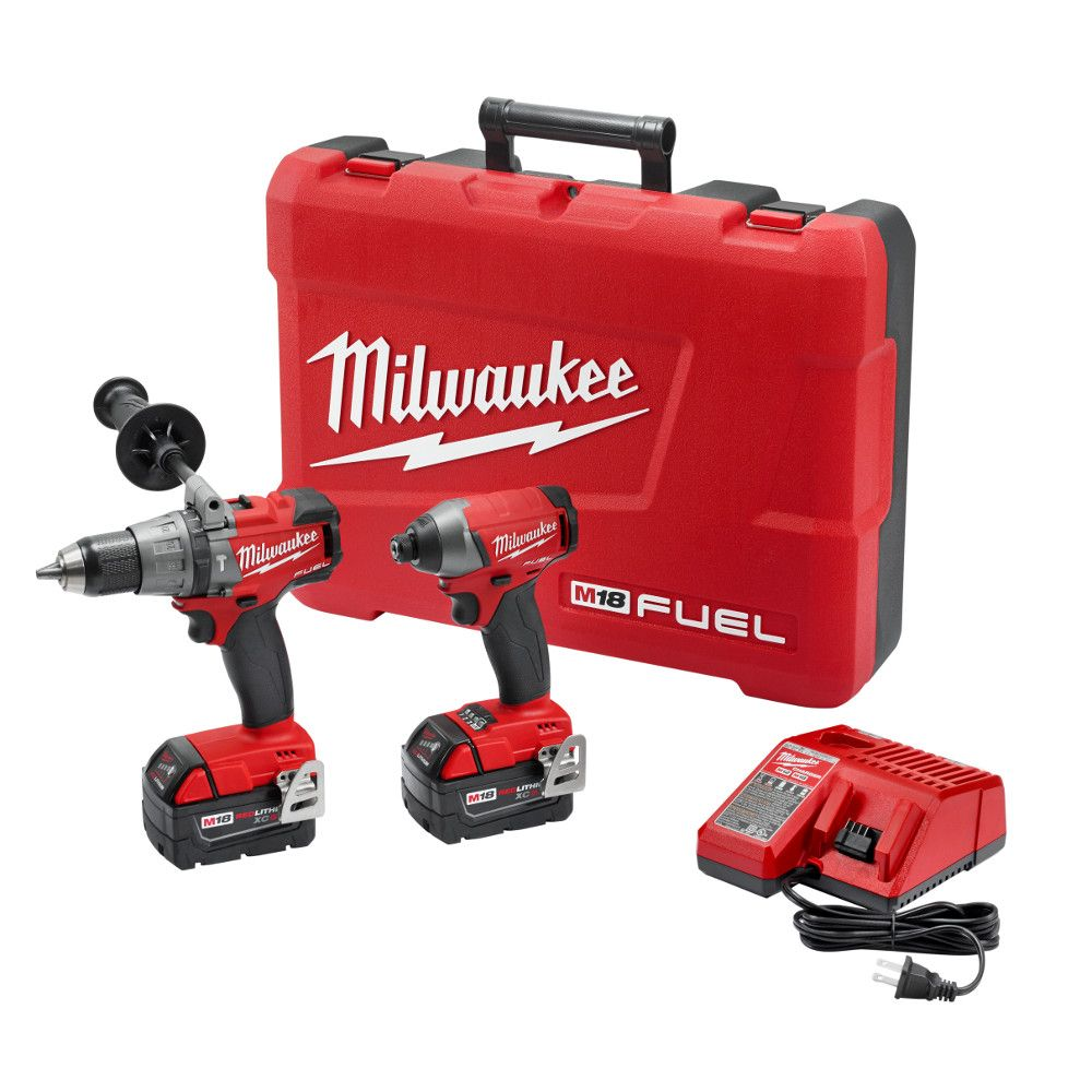M18 Fuel 2-Tool Combo Kit - Free Battery