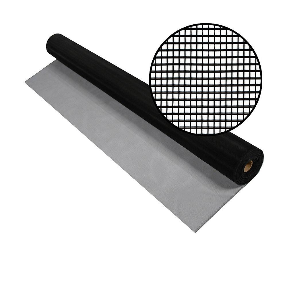 60-inch x 100 ft. Black Aluminum Screen