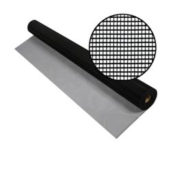 Phifer 60-inch x 100 ft. Black Aluminum Screen