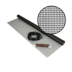 """Phifer Kit de Moust. en f.d.verre noire 48""""x25'"""