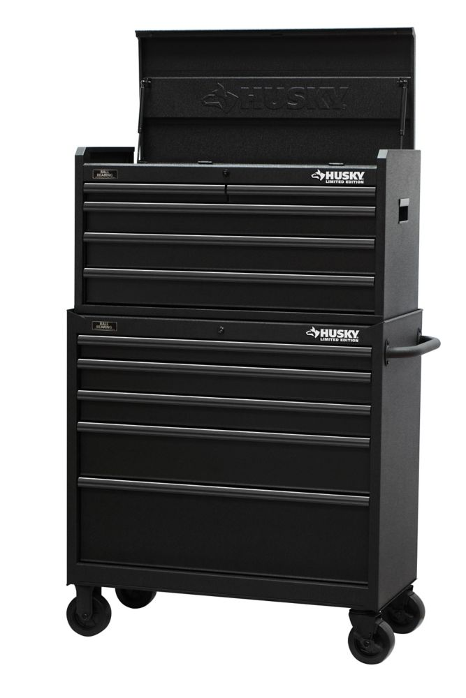 37 Inch 10-Drawer Tool Chest and Cabinet