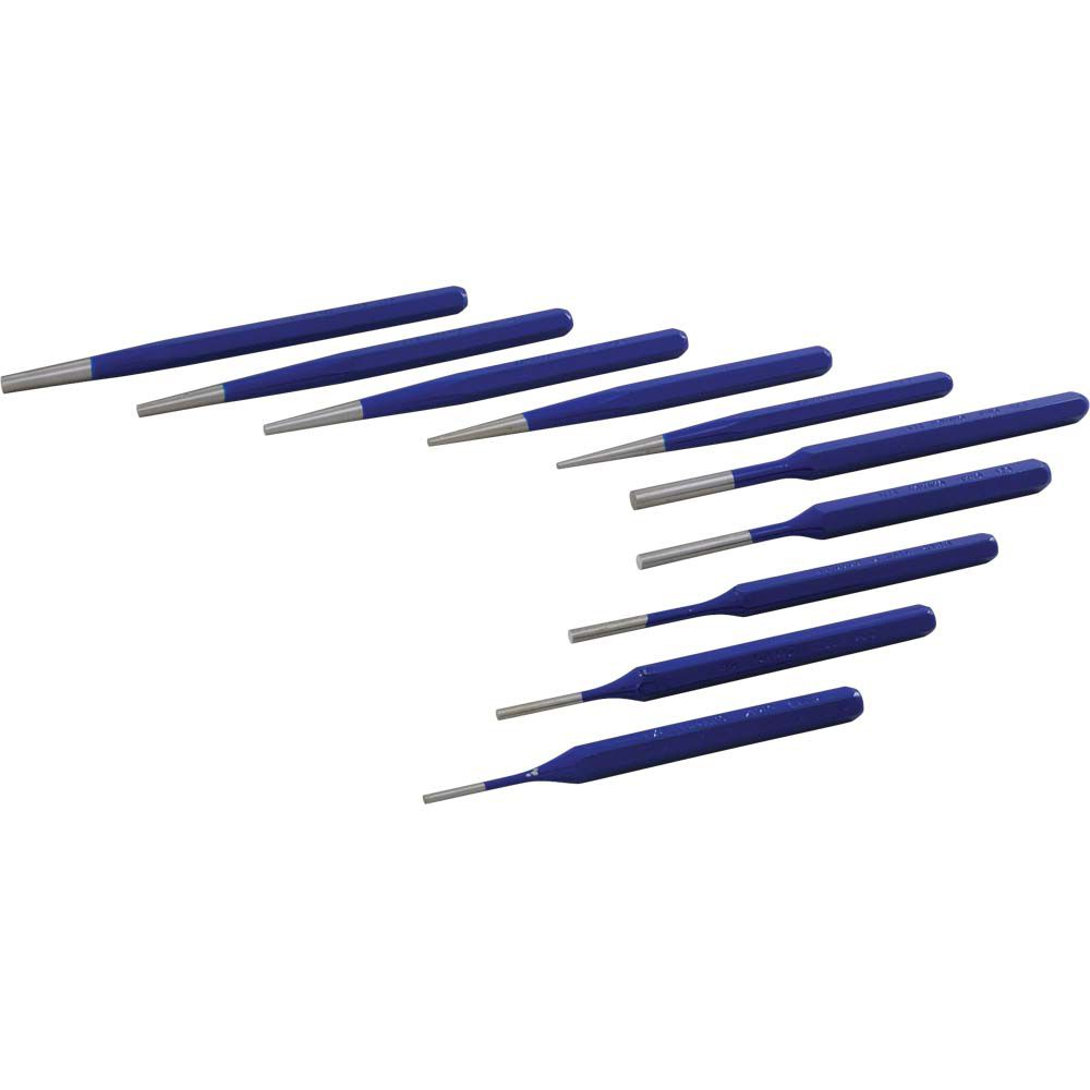 10 Piece Taper/Pin Punch Set