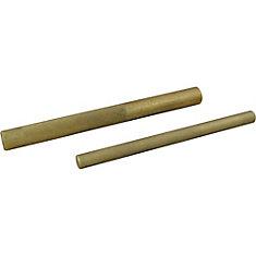 2 Piece Brass Drift Punch Set