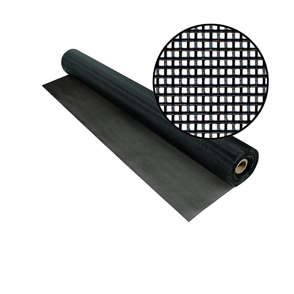 60-inch x 50 ft. Black Tuffscreen