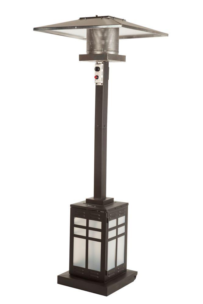 Square Illuminated Base Patio Heater