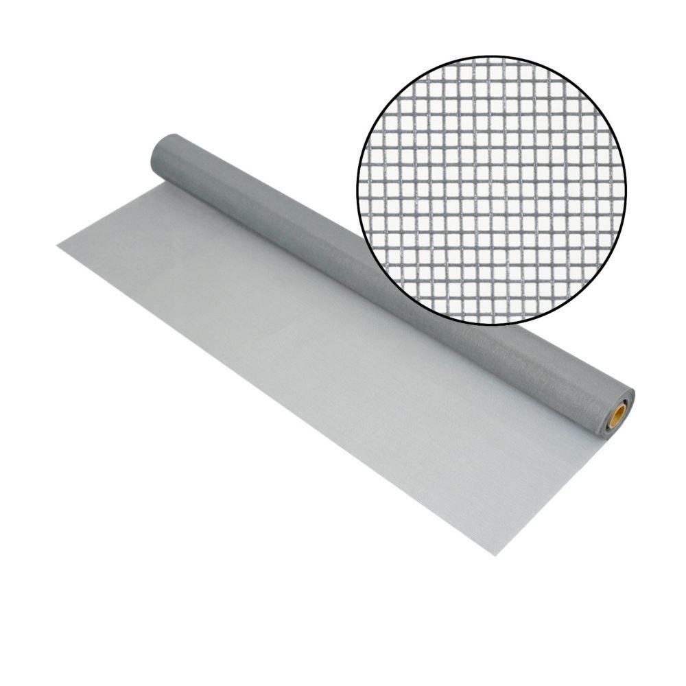 36-inch x 100 ft. Fiberglass Gray Screen