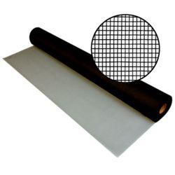 """Phifer Moust. en fibre de verre noire 36""""x100'"""