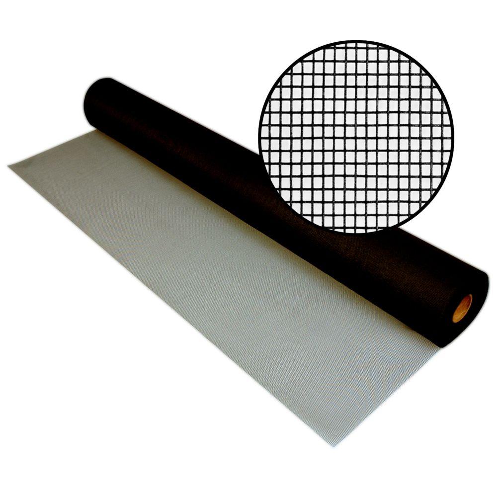 48-inch x 100 ft. Fiberglass Charcoal Screen