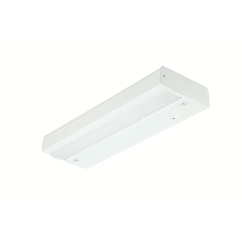 Commercial Electric 9-inch LED Direct Wire Under Cabinet Light in White - ENERGY STAR®
