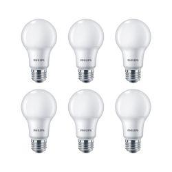 Philips LED 60W A19 Soft White 2700K - (6-Pack) - ENERGY STAR