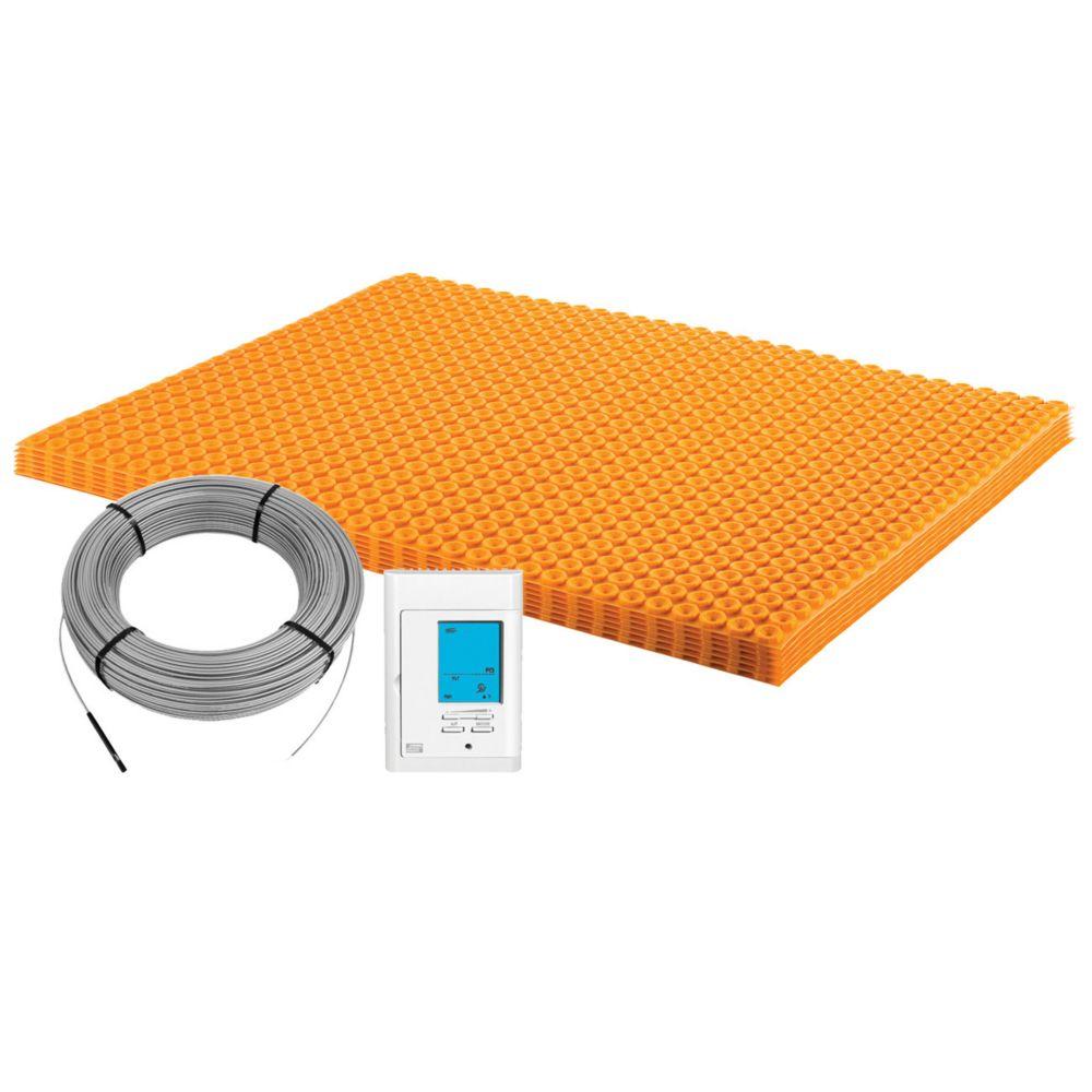 Schluter Ditra-Heat 120-Volt 60.3 sq. ft Electric Flooring Warming Kit