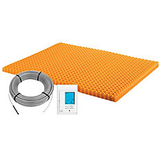 Ditra-Heat 120-Volt 43.1 sq. ft Electric Flooring Warming Kit