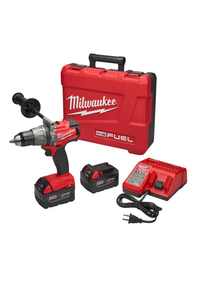 M18 Fuel 1/2 Inch Hammer Drill/Driver