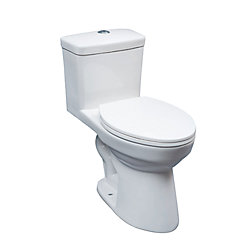 GLACIER BAY 1-Piece elongated ADA toilet DF 4/6L