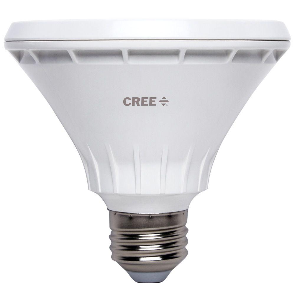 75W Equivalent Bright White PAR30 Short Neck 40 Degree Flood Dimmable LED Light Bulb