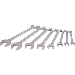 GRAY TOOLS 8-Piece Metric Open End Wrench Set