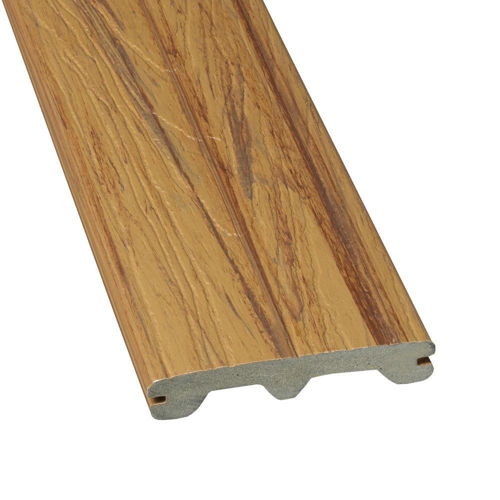 Veranda 12 Feet - Elite Capped Grooved Composite Decking - Brazilian Ash