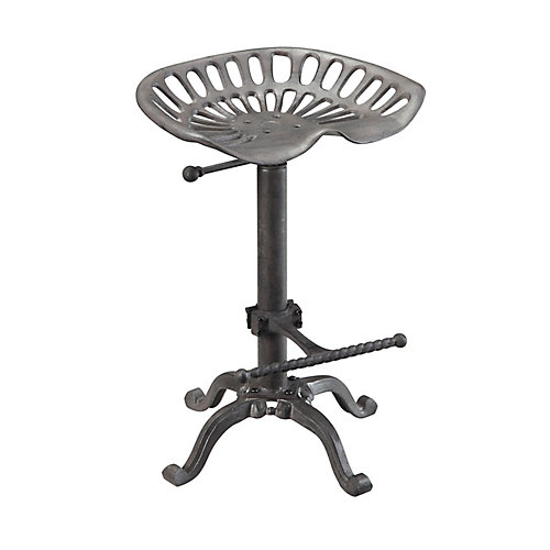 Adjule Style Tractor Seat Bar Stool