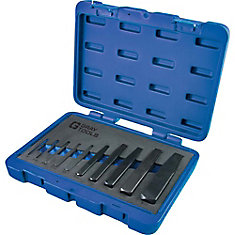 10 Piece Straight Type Screw Extractor Set