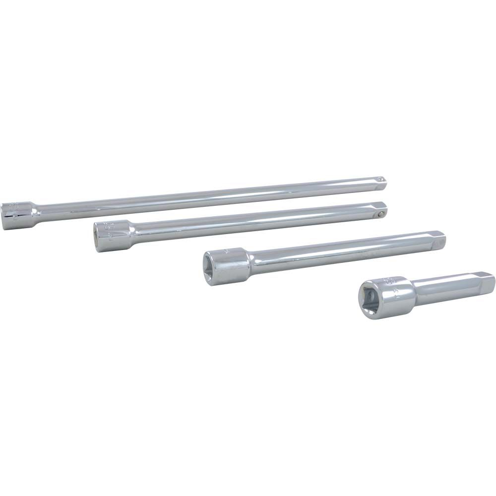 Extension Set 4 Pieces 3/8 Inch Drive
