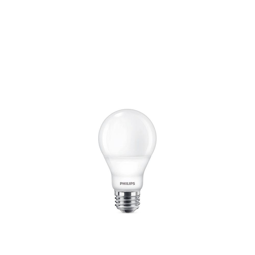 Lampe de menage A19 DEL 60 W - Lumierè blanc doux (2 700 K)