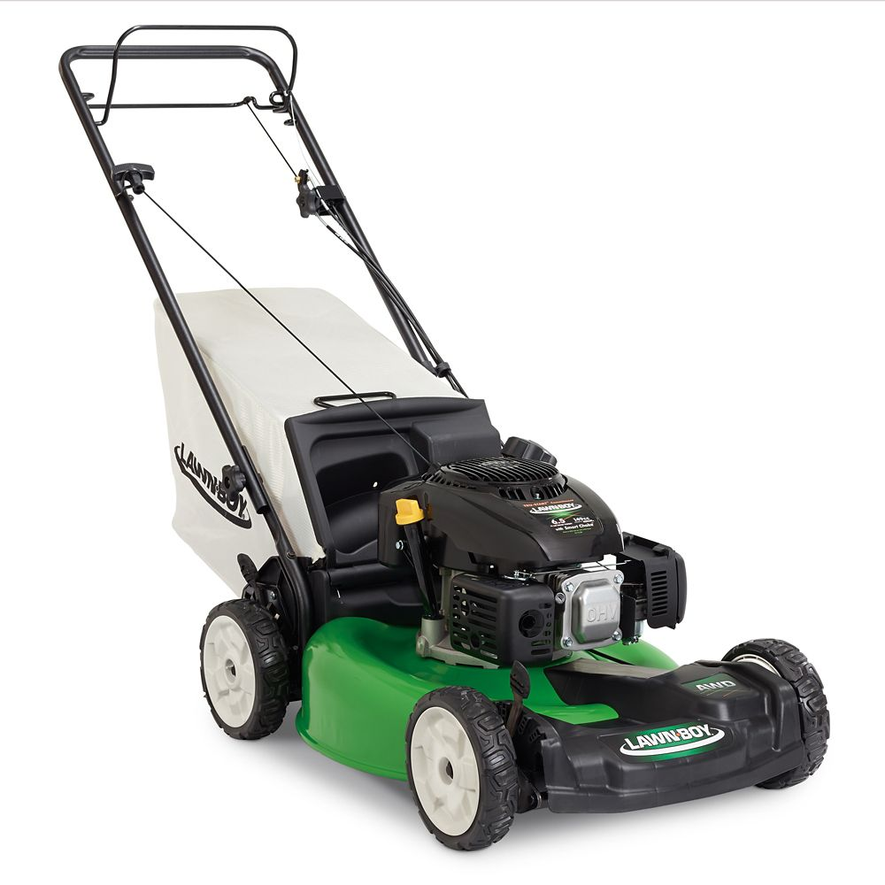 21 Inch Variable Speed All-Wheel Drive Gas Lawn Mower