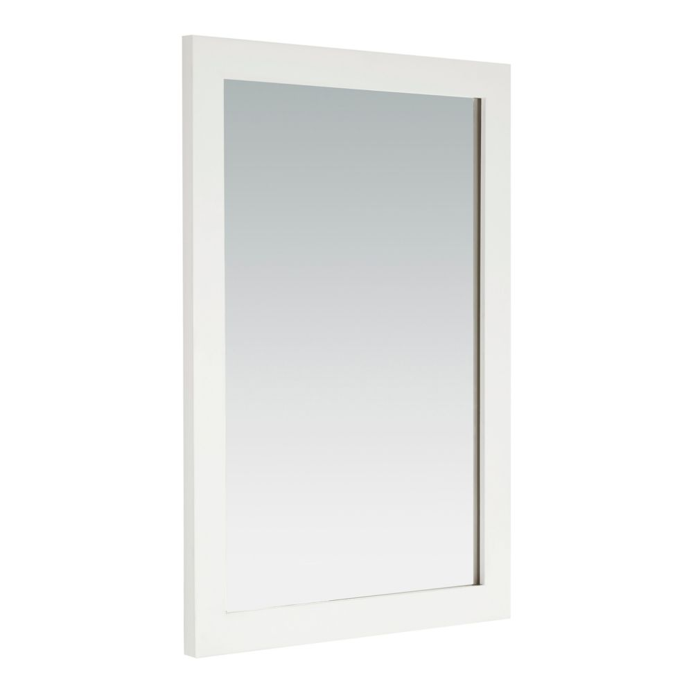 Cape Cod 30-inch L x 22-inch W Wall Mounted Decor Vanity Mirror in Soft White