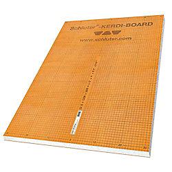 Schluter Panneau de construction Kerdi-Board 1,91cmx 62,23cmx 243,84cm