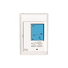 Ditra-Heat Bright White Programmable Thermostat