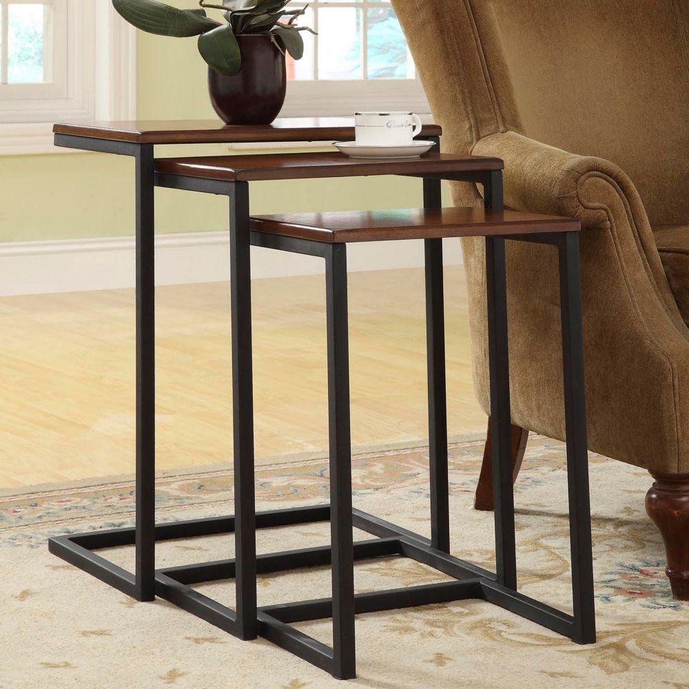 Carolina Forge Addison Nesting Table Set