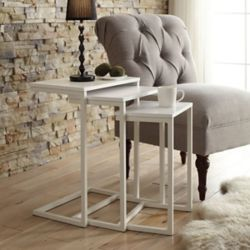 Carolina Forge Addison Nesting Table Set
