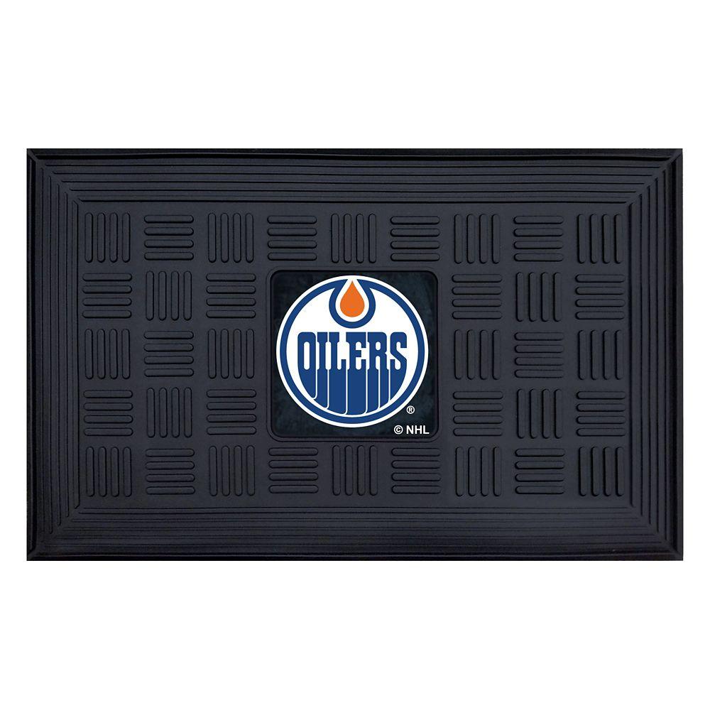 FANMATS Edmonton Oilers Black 1 Ft. 7.5-inch X 2 Ft. 7.25