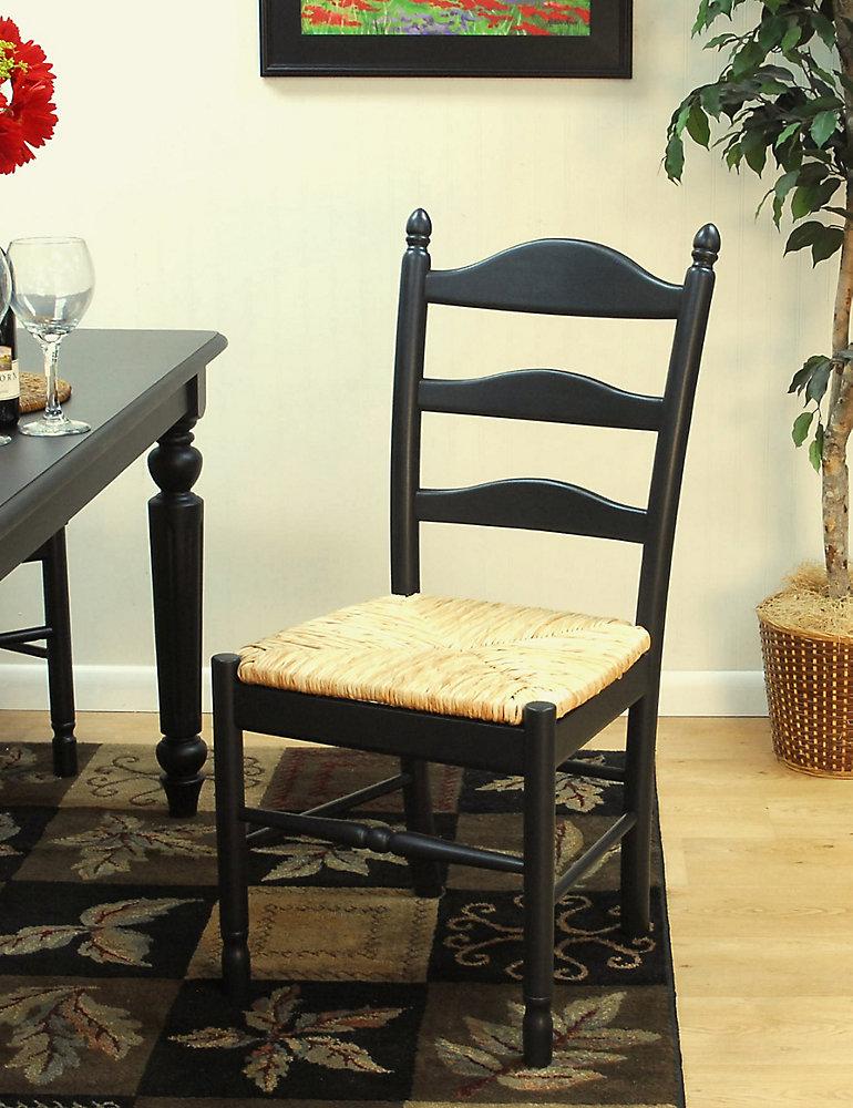 Vera Chair, Antique Black