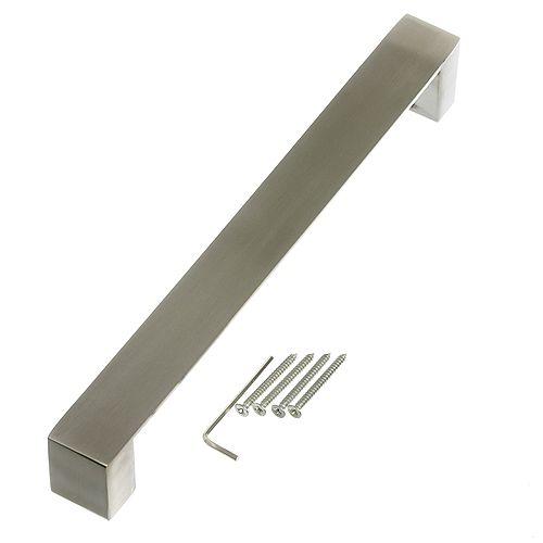 Everbilt 11-Inch Stainless Steel Modern Gate Pull - 1pk