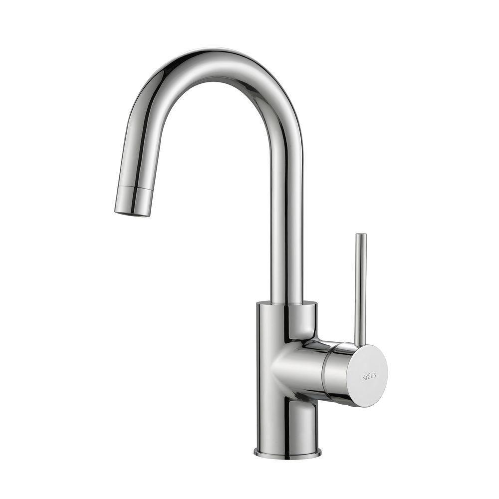 MateoSingle Lever Kitchen Bar Faucet Chrome