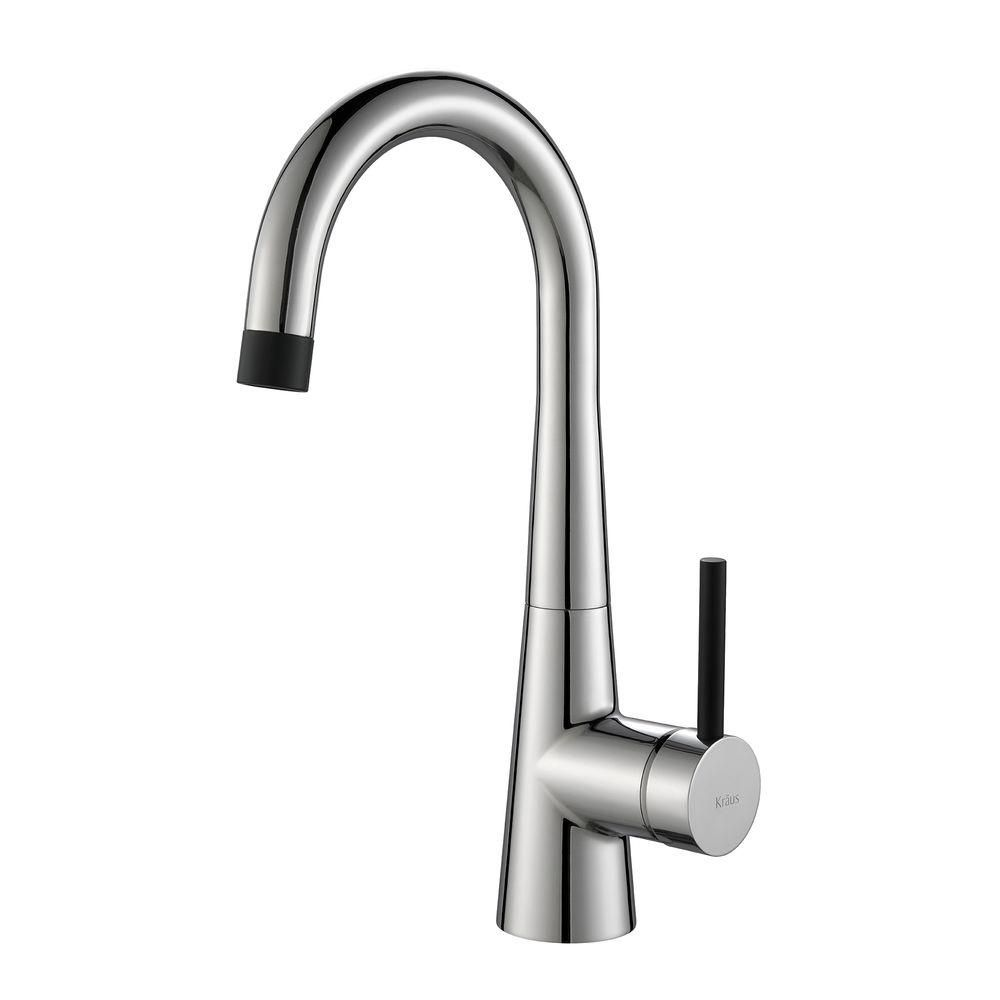 CrespoSingle Lever Kitchen Bar Faucet Chrome