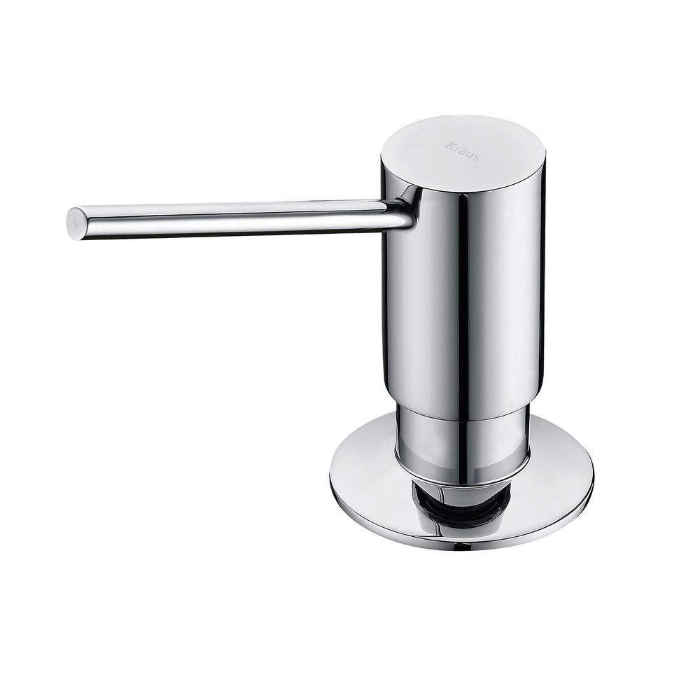 Kraus Soap Dispenser in Chrome