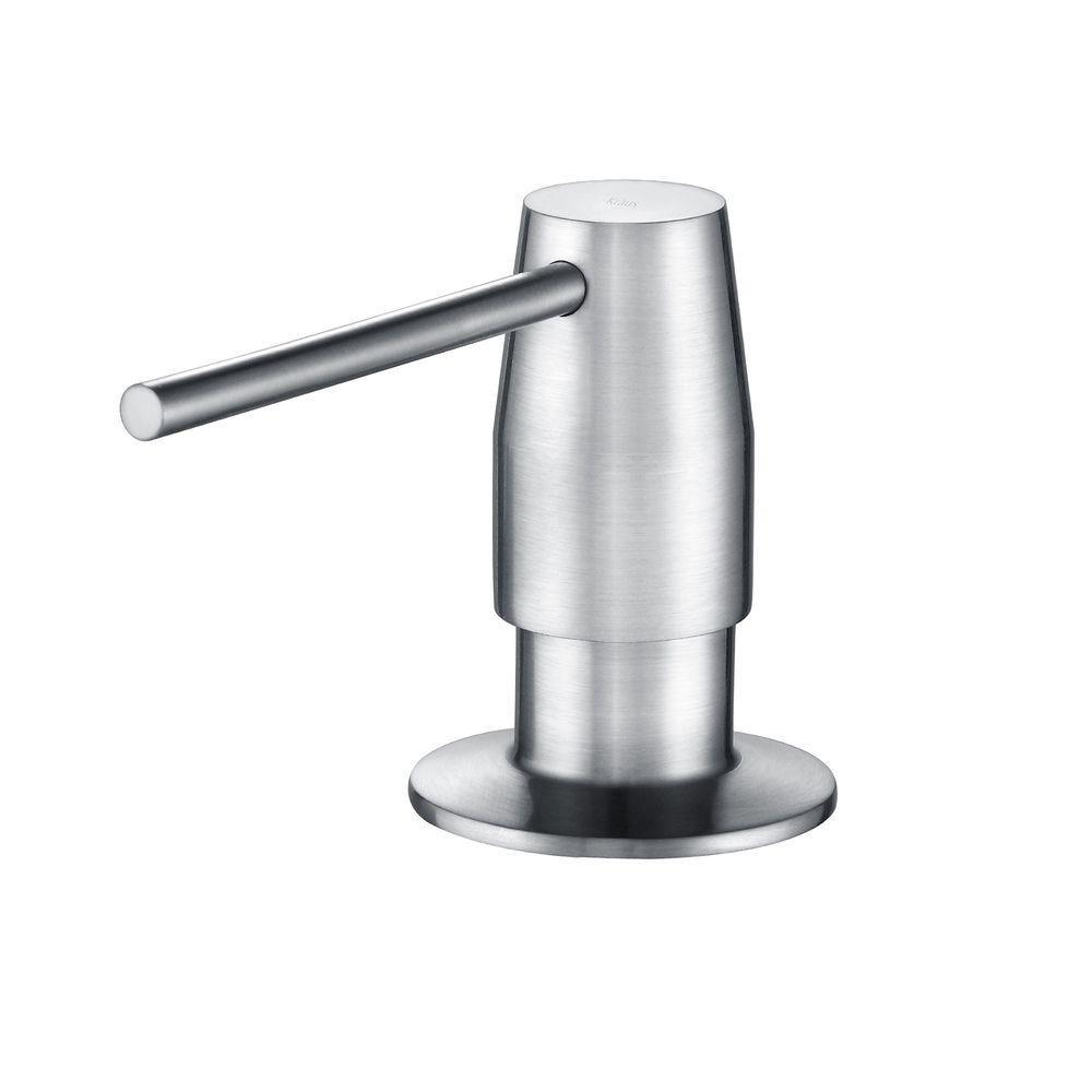 distributeur de savon Chrome