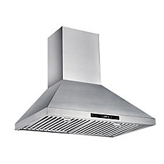 30-inch 450 CFM Wall-Mount Chimney Range Hood in Stainless Steel
