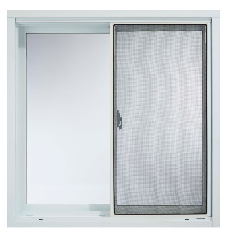 Solensis 30 Inch X 60 Inch Vinyl Single Hung Window With 3