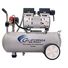 5510SE Compresseur d'air avec réservoir d'acier, sans huile, ultra silencieux, 20,82 L, 1,0 CV